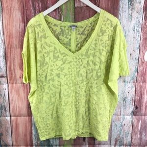 Express top size small bright perfect for summer